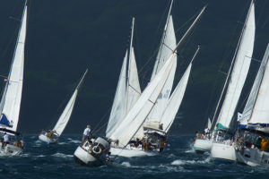 A sporty regatta with optimal conditions