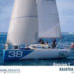 TPR 2017 - Raiatea Yacht - 3ème place en division 1